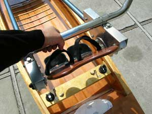 Installing the sliding rigger